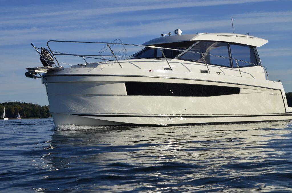 platinum 35 jacht motorowy